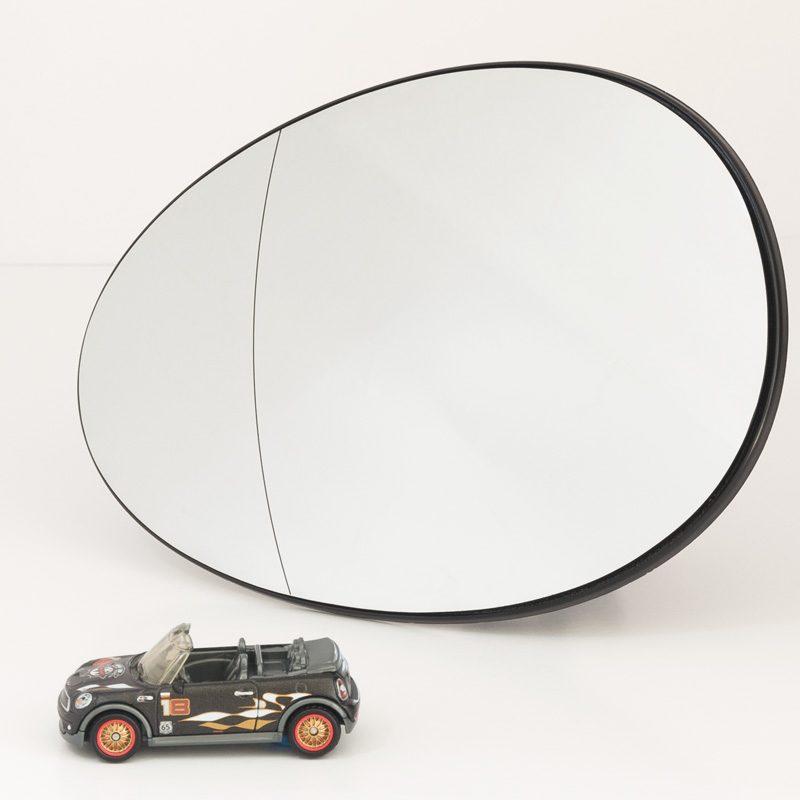 Mini Cooper 2007-up mirror glass ashperical LH 2