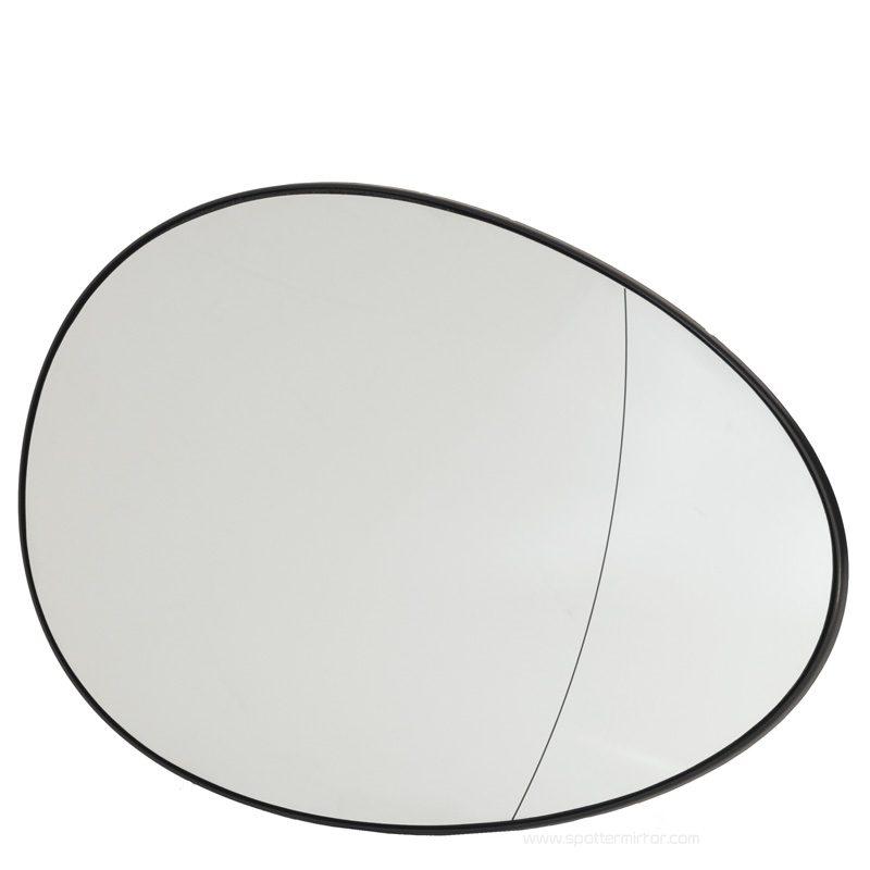 Mini Cooper 2007-up mirror glass ashperical RH