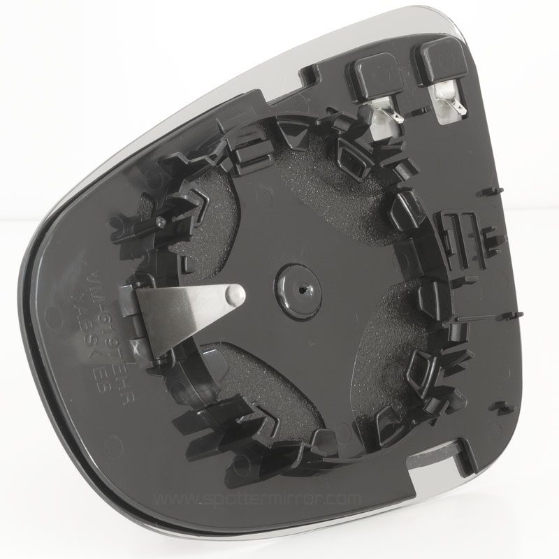 2010-2014 VW Golf mirror glass RH back plate