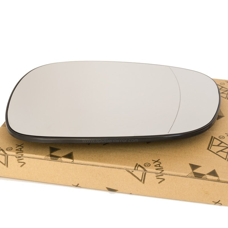 10-14 BMW X3 mirror glass right passenger side with box