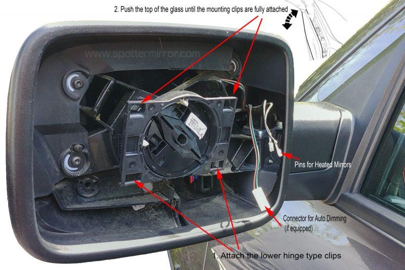 2009-2018-Dodge-RAM-driver-side-mirror-install-diagram