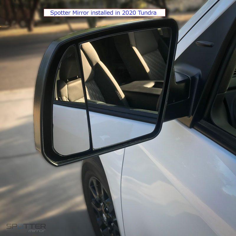 2020 Tundra spotter mirror installed