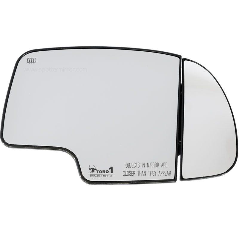 1999-2006 Tahoe Silverado Sierra Yukon Blind Spot Two-axis Mirror- RH
