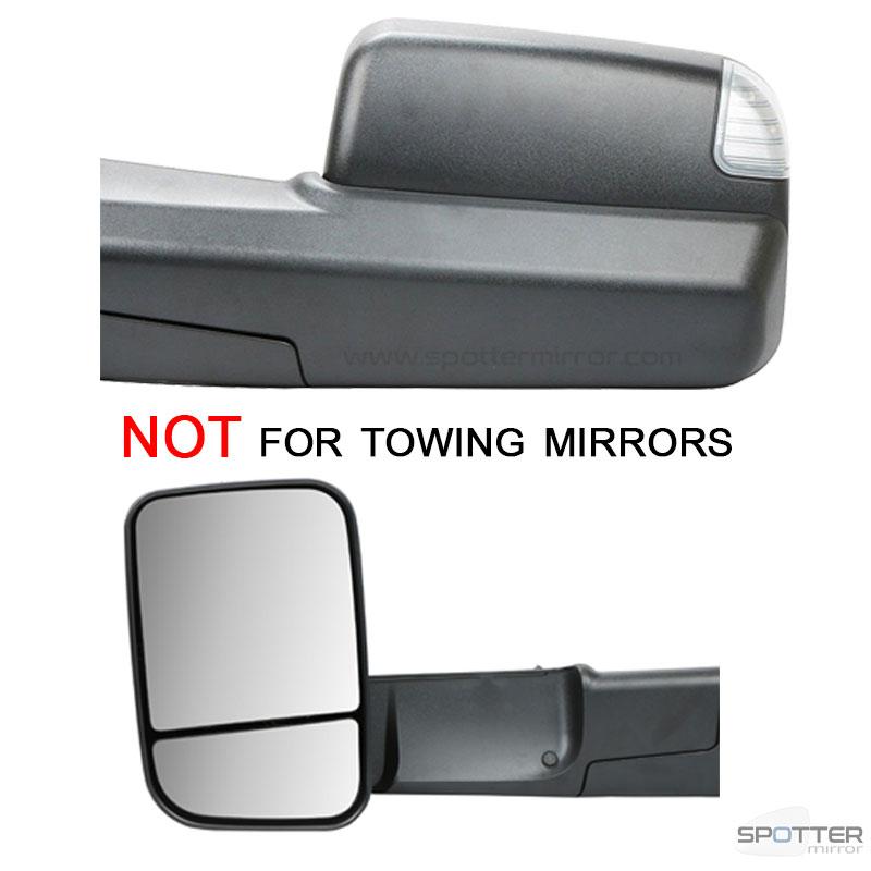 2009 2018 Dodge Ram 1500 Blind Spot Mirror Direct Replacament