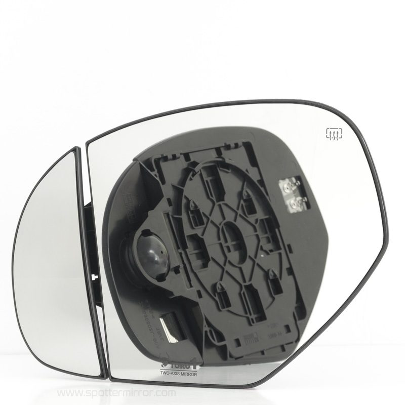 07-14 GM Truck SUV Mirror Glass Two-Axis 2