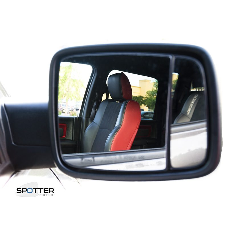 Dodge RAM blind spot mirror front seat
