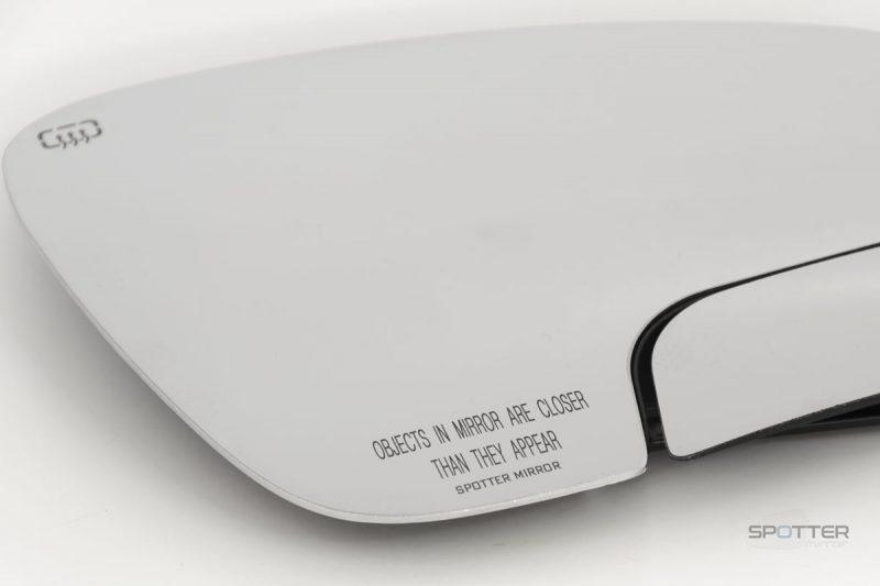 Tacoma 4Runner RAV4 Spotter Mirror RH w/logo