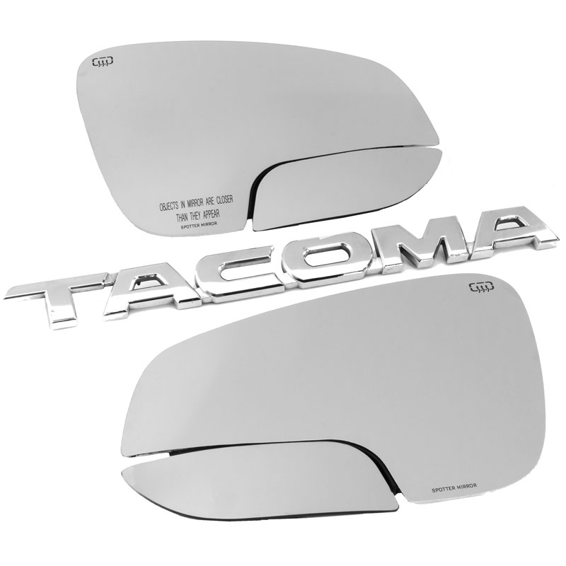 driver and passenger side tacoma and 4runner spotter mirrors