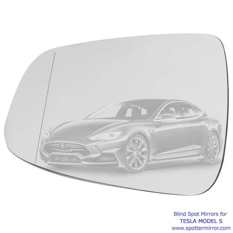 Blind Spot Mirror for Tesla Driver Left