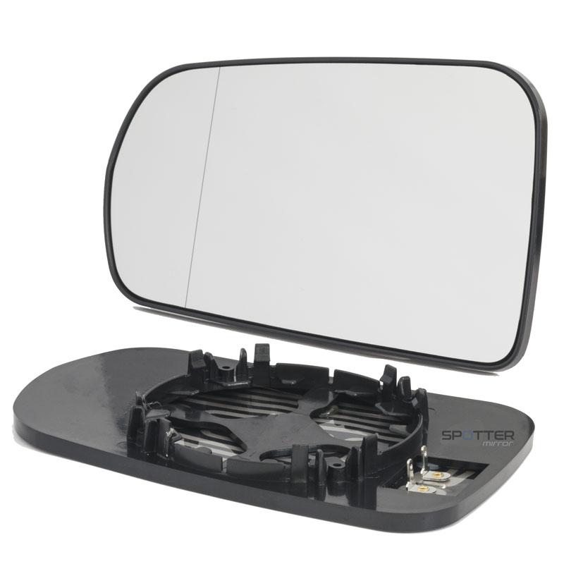 Corvette C7 blind spot aspheric mirror with backing plate left driver side