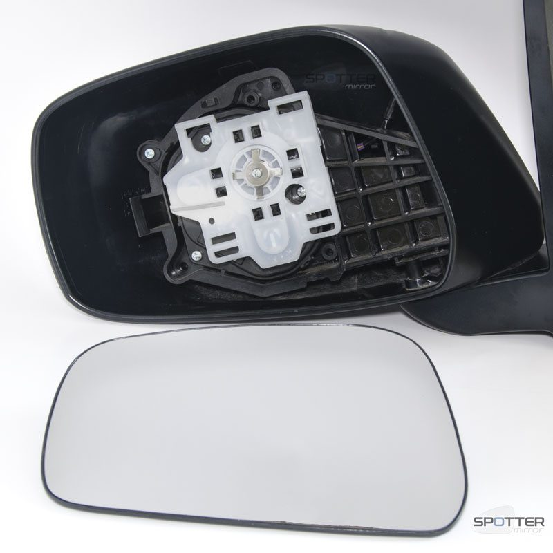 Nissan Frontier Pathfinder Xterra driver side mirror with motor mount