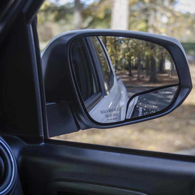 passenger side spotter mirror 4Runner