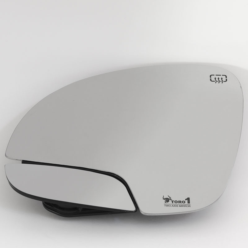 blind spot mirror for VW Tiguan driver left heated